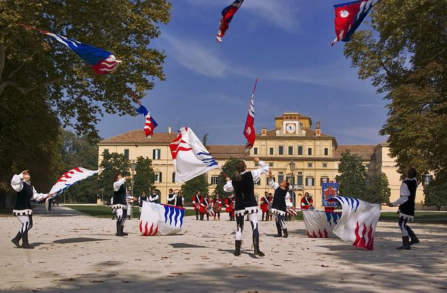 twirling-flags
